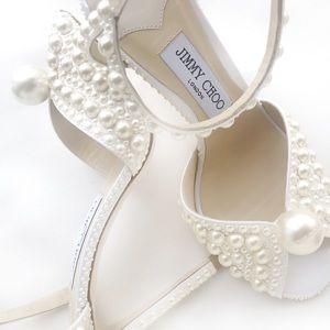 Jimmy Choo Pearl sacora 100ml satin shoe bridal